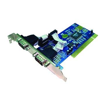 伽利略 PTR02 2埠RS-232卡PCI