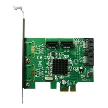 GALILEO 伽利略PES340A 4埠SATA III擴充卡PCI-E