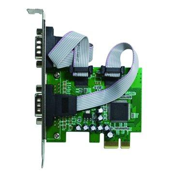 GALILEO 伽利略PETR02A 2埠RS232卡PCI-E