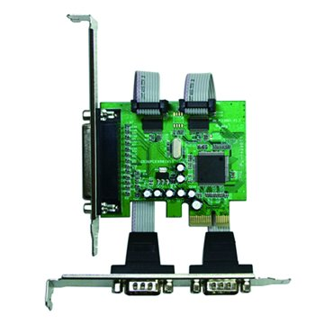 GALILEO 伽利略PETRP02A 2埠PT+RS-232卡PCI-E
