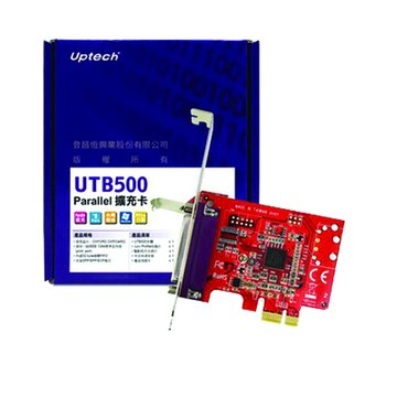 Uptech UTB500 1埠Parallel擴充卡PCI Express