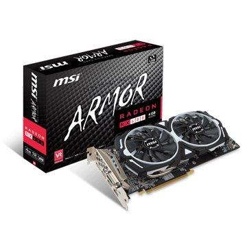MSI 微星 Radeon RX 480 ARMOR 4G OC