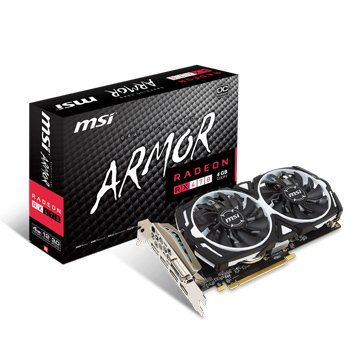MSI 微星 Radeon RX 470 ARMOR 4G OC