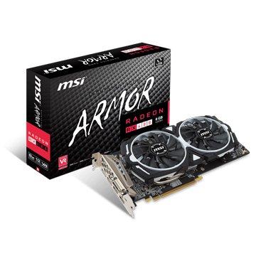 MSI 微星 Radeon RX 480 ARMOR 8G OC