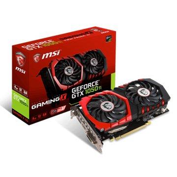 MSI 微星 GeForce GTX 1050 Ti GAMING X 4G
