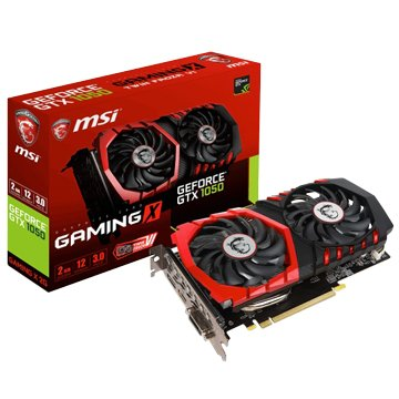 MSI 微星 GeForce GTX 1050 GAMING X 2G