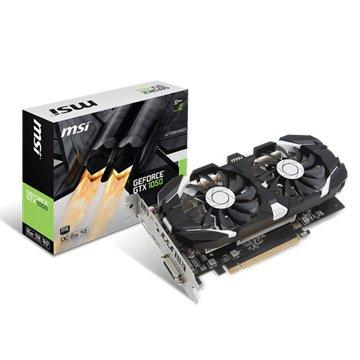 MSI 微星 GeForce GTX 1050 2GT OC (飆風版)