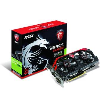 MSI 微星N750Ti Gaming 2GD5/OC 顯示卡