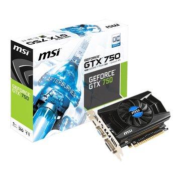 MSI 微星 N750-1GD5/OCV1 顯示卡