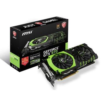 MSI 微星 GTX 970 GAMING 100ME 顯示卡