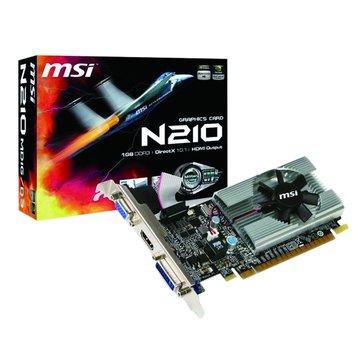 MSI 微星N210-MD1G/1GD3 顯示卡
