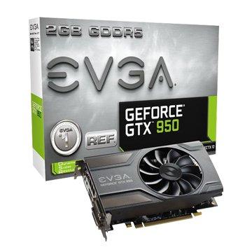 EVGA 艾維克GTX950/2GB/REF/ACX/GDDR5/128顯卡