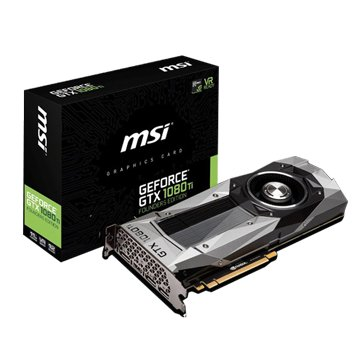 MSI 微星 GeForce GTX 1080 Ti FE 創始版 顯卡