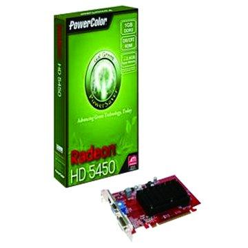 POWERCOLOR 撼訊 HD5450 1GBK3-SHEV2 1GB DDR3 顯示卡