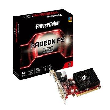 POWERCOLOR 撼訊AXR5 230 1GBK3-LHE 1GB DDR3 64bit P