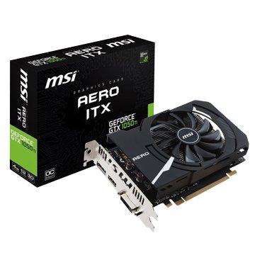 MSI 微星 GeForce GTX 1050 Ti AERO ITX 4G OC