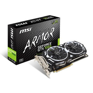 MSI 微星 GeForce GTX 1060 ARMOR 3G OCV1 PCI-E
