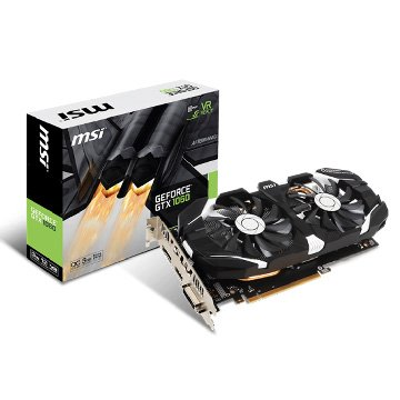 MSI 微星 GeForce GTX 1060 3GT OC PCI-E顯示卡