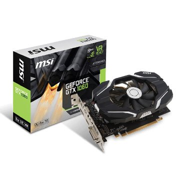 MSI 微星 GeForce GTX 1060 3G OCV1 PCI-E顯示卡