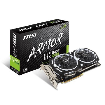 MSI GeForce GTX 1060 ARMOR 3G OCV1(鎧甲