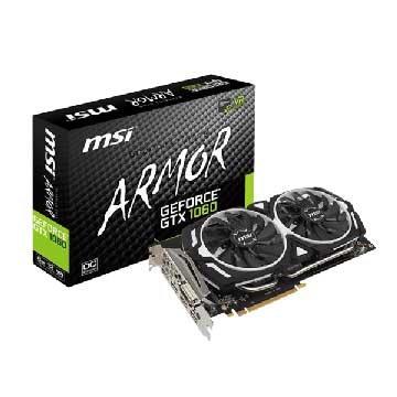 MSI 微星 GeForce GTX 1060 ARMOR 6G OCV1 PCI-E