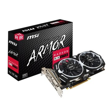 MSI 微星 Radeon RX 570 ARMOR 4G OC (Gaming虎)顯卡