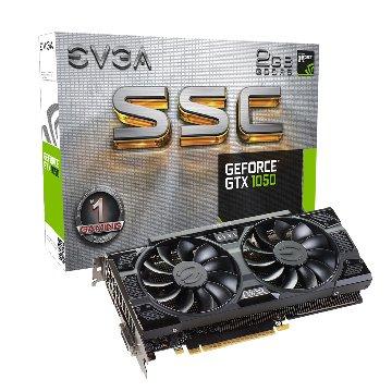 EVGA 艾維克 GTX1050 2GB SSC GAMING ACX3.0