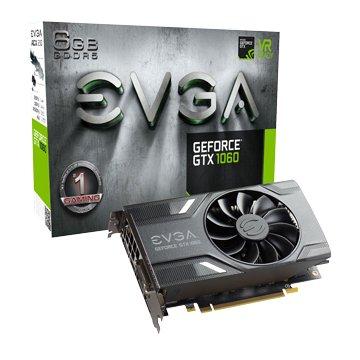 EVGA 艾維克 GTX1060 6GB GAMING ACX 2.0 GD