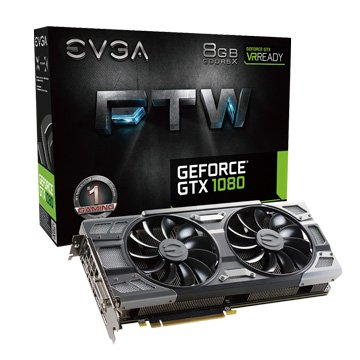 EVGA 艾維克GTX1080 8GB FTW BP 2BIOS ACX3