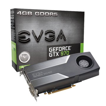 EVGA 艾維克GTX970 4GB (REF Blower)顯示卡