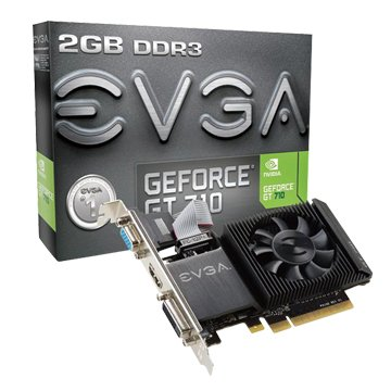 EVGA 艾維克艾維克  GT710 2GB DDR3 LP 64Bit PCI-