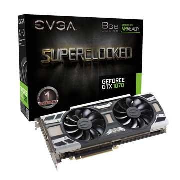 EVGA 艾維克 GTX1070 8GB SC GAMING ACX 3.0
