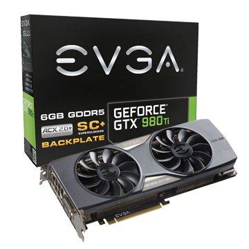 EVGA 艾維克 【客訂3~5天】GTX980Ti 6GB SC+ ACX2.0+ BP 顯示卡
