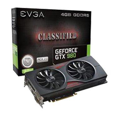 EVGA 艾維克 GTX980 4GB Classified ACX2.0
