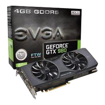 EVGA 艾維克 GTX980 4GB FTW ACX2.0顯示卡