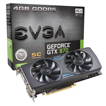 EVGA 艾維克 GTX970 4GB SC+ACX2.0 顯示卡