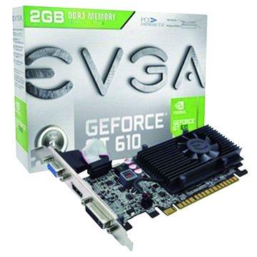 EVGA 艾維克GT610 2GD3/LP/64bit 顯示卡