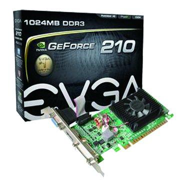 EVGA 艾維克GT210 1GB DDR3 顯示卡
