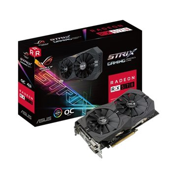 ASUS 華碩 STRIX-RX570-O4G-GAMING 顯示卡