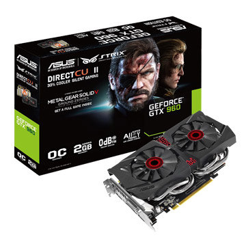 ASUS 華碩 STRIX-GTX960-DC2OC-2GD5-SP(潛龍版)