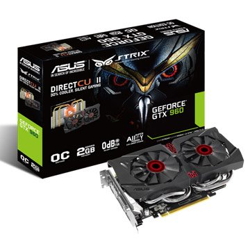 ASUS 華碩 STRIX-GTX960-DC2OC-2GD5 顯示卡