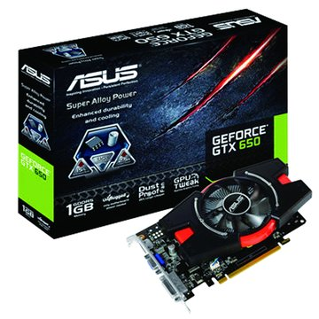 ASUS 華碩GTX650-E-1GD5 顯示卡