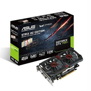 ASUS 華碩 STRIX-GTX750TI-OC-2GD5 顯示卡