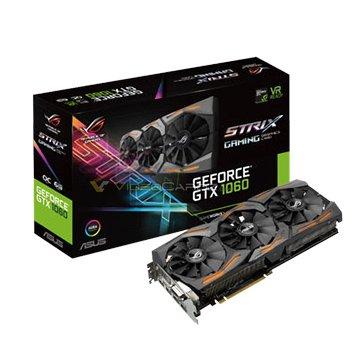 ASUS 華碩 STRIX-GTX1060-6G-GAMING 顯示卡