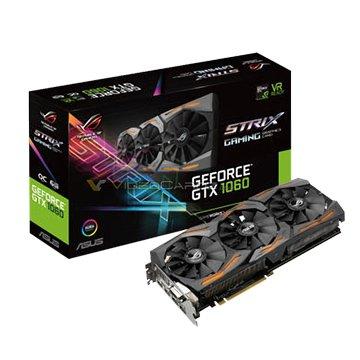 ASUS 華碩 STRIX-GTX1060-O6G-GAMING 顯示卡