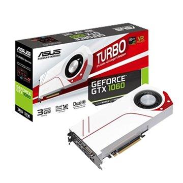 ASUS 華碩 TURBO-GTX1060-3G-WHITE 顯示卡