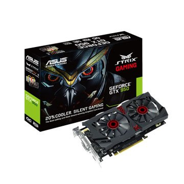 ASUS 華碩 STRIX-GTX950-DC2OC-2GD5-GAMING顯卡