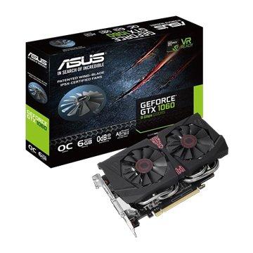 ASUS 華碩 GTX1060-O6G-9GBPS-GAMING 顯示卡