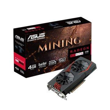 ASUS 華碩 華碩 MINING-RX470-4G(發光版) 顯示卡