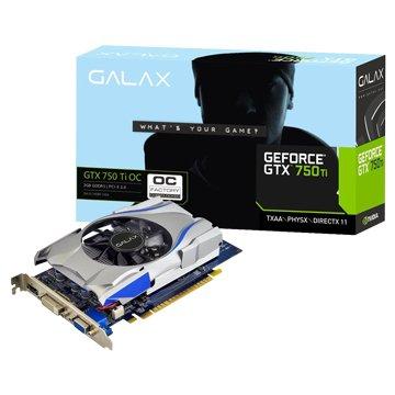 GALAX 影馳 GTX750Ti OC 2GB DDR5 顯示卡